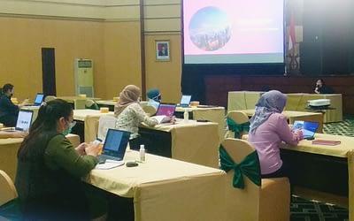 SISI Lakukan Finalisasi Proyek dalam kegiatan End User Training E-Recruitment Bank Jatim