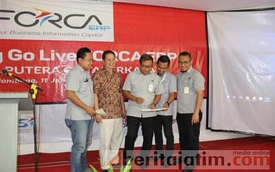 Kontrol Penjualan, Distributor SI Launching Aplikasi Forca ERP