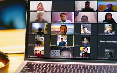 Tetap Produktif Di Masa Pandemi, Mahasiswa Teknik Informatika UMP Gelar Webinar Design Thinking