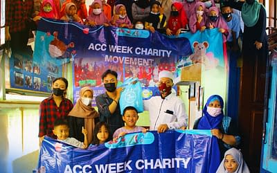 SISI Turut Serta Salurkan Donasi Peduli Yayasan Panti Asuhan pada ACCOUNTING WEEK 2021
